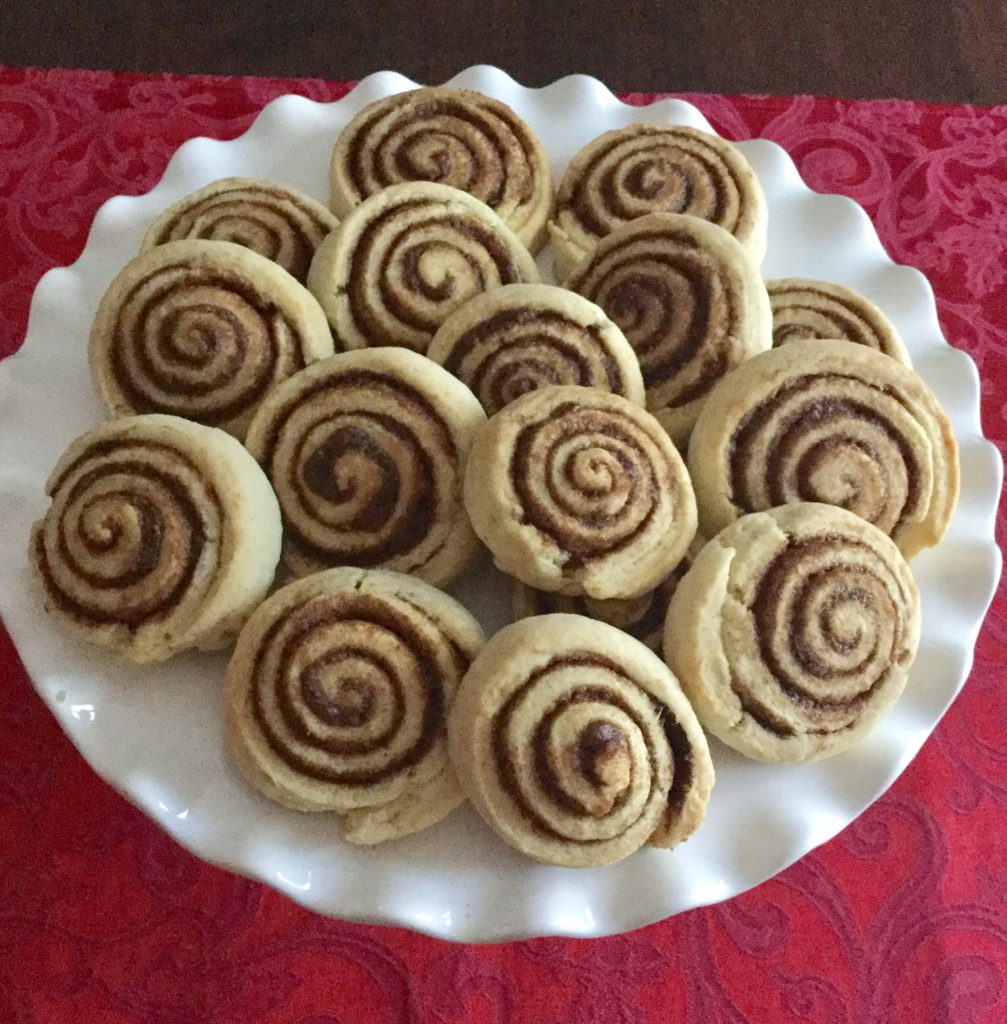 Getting Ready For The Holidays – Cinnamon Roll Cookie Recipe