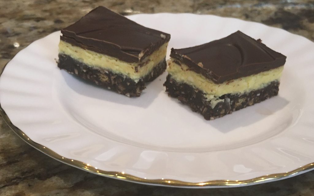 "Holiday Baking - Nanaimo Bars (Actually...A ""No Bake"" Recipe!)"